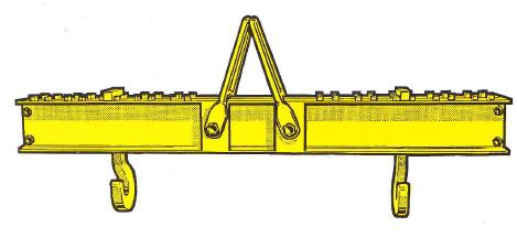 Lasttraverse Zweiträger-Profilstahlkonstruktion