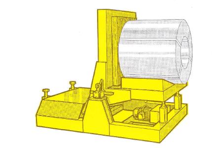 elektrohydraulischer Wendetisch