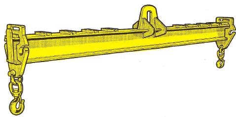 Lasttraverse in Einträgerkonstruktion